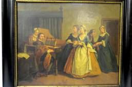 Pr Framed Oil Paintings