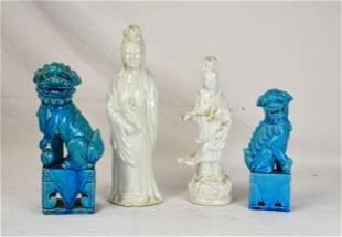 Four Pcs  Chinese Porcelains