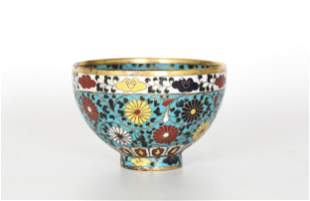 Chinese Cloisonne Bowl