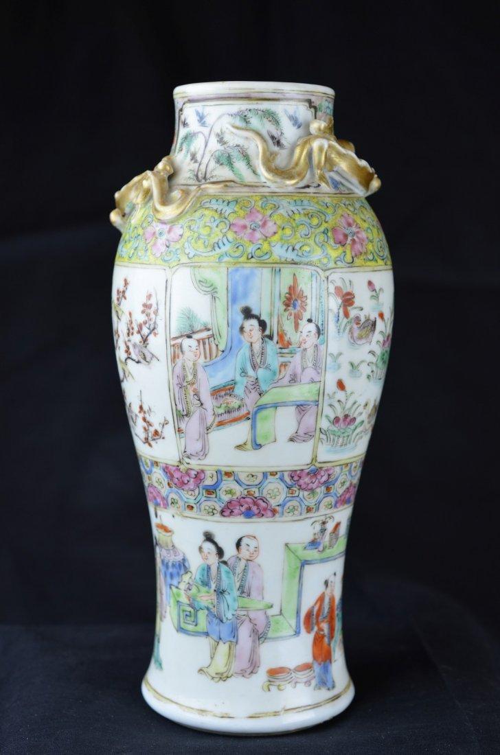 A  Chinese Famille Enamel  Vase