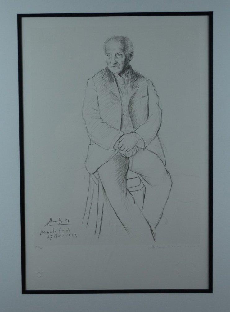 "Pablo Picasso, ""Self Portrait"", Signed Lithograph"