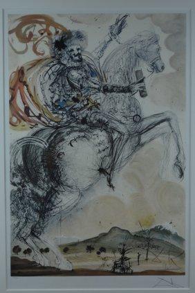 """Salvador Dali, """"El Cid Don Quixote"""""""