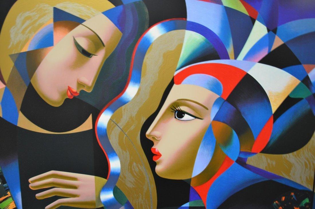 """Oleg Zhivetin,  """"Tender Heart"""", Silkscreen - 2"""