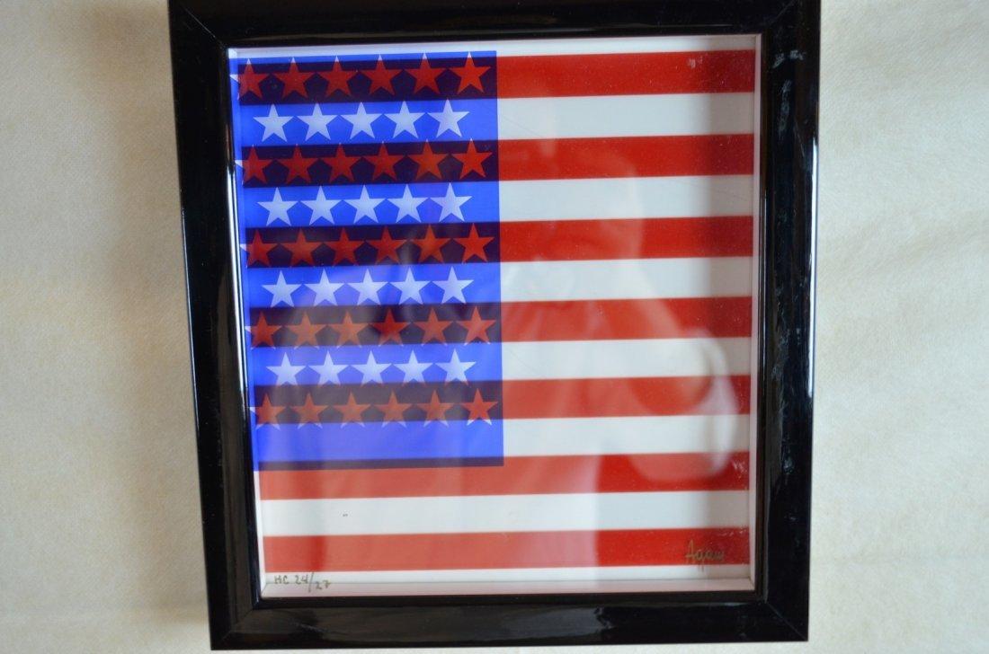 """Agam """"Freedom Flag"""" Dynasty Series"""