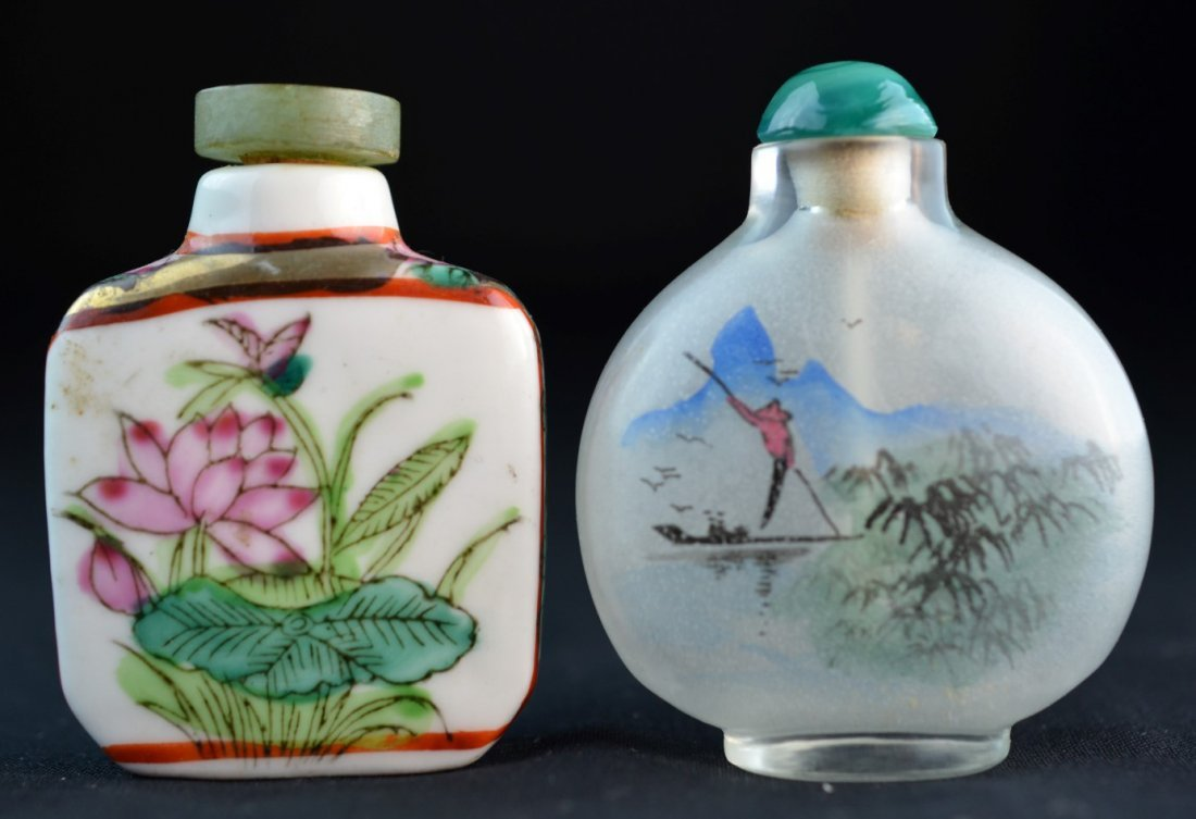 Set of Two Chinese Snuff Bottles