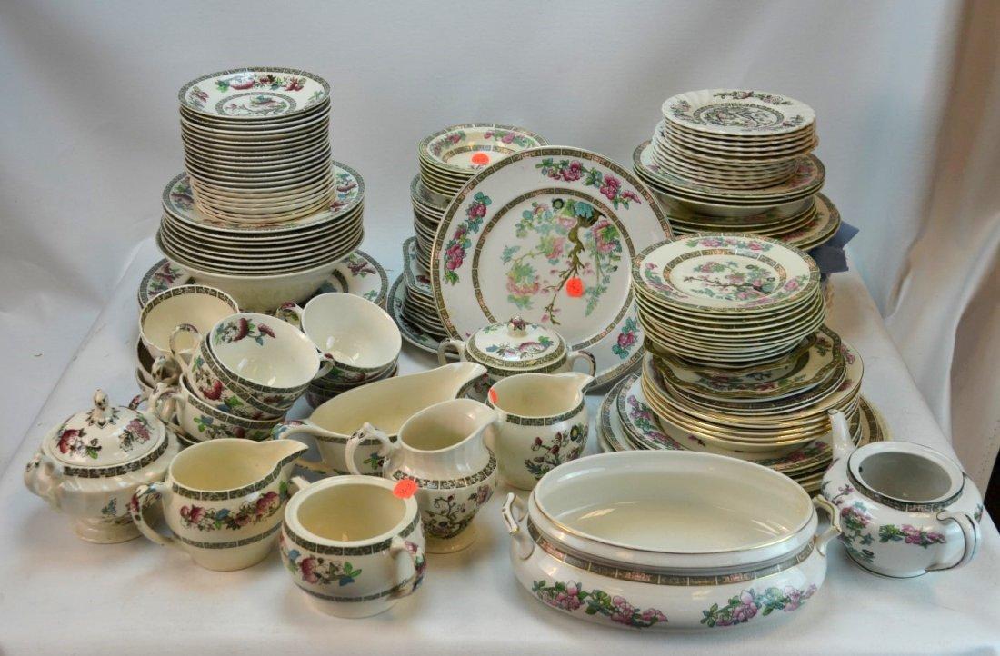 151-pcs Myott/Johnson Bros Indian Tree Porcelain
