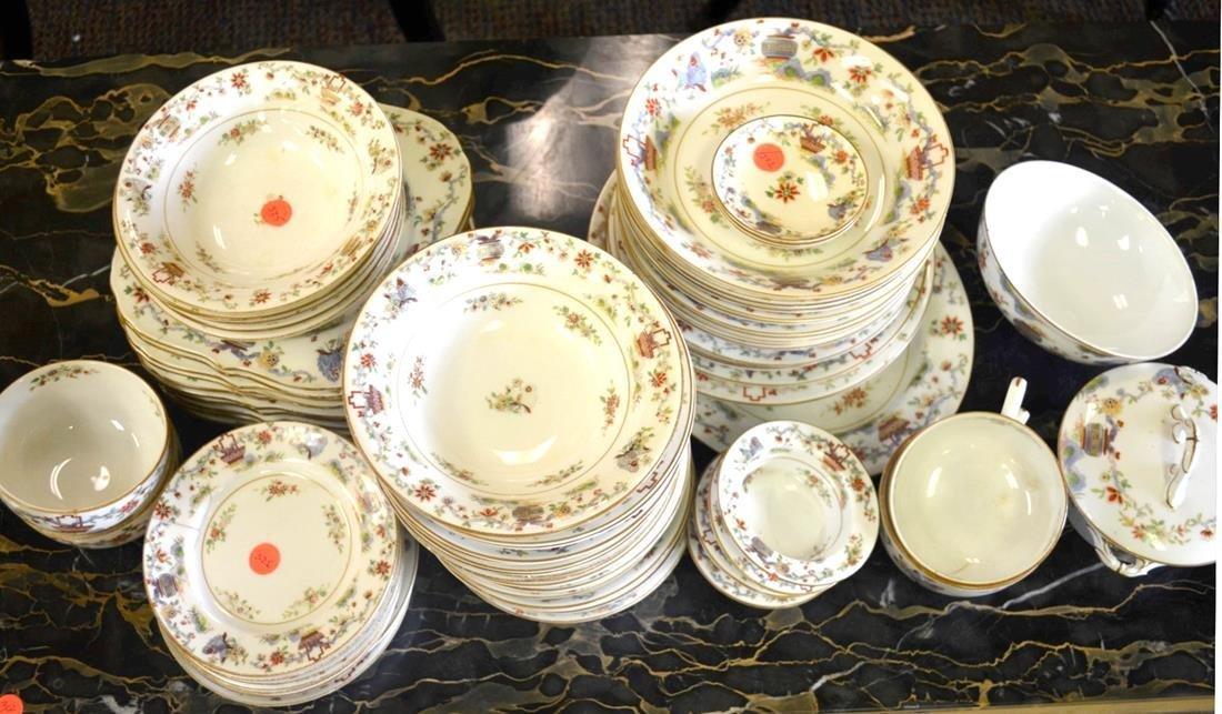Royal Worcester 72-pc Porcelain Dinner Set