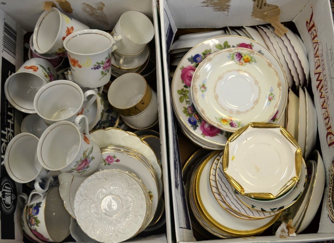 114-pcs Porcelain Including CH Field Haviland