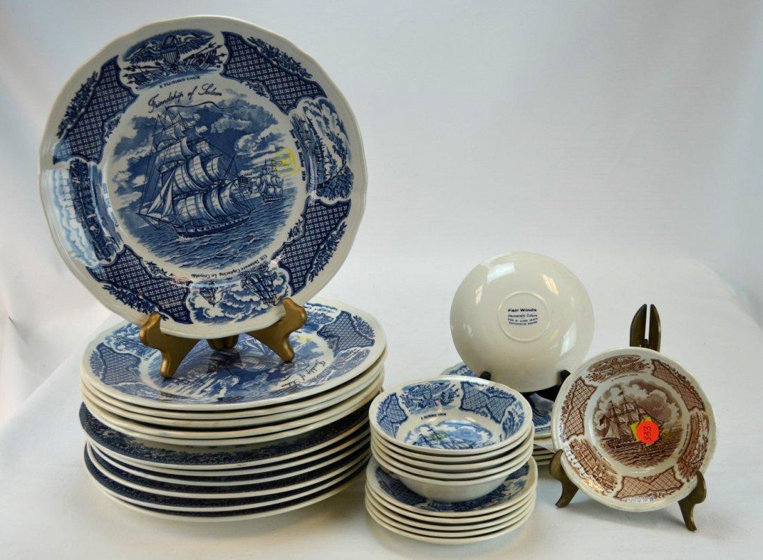 30 Porcelain Pieces including Albert Meakin & Hara