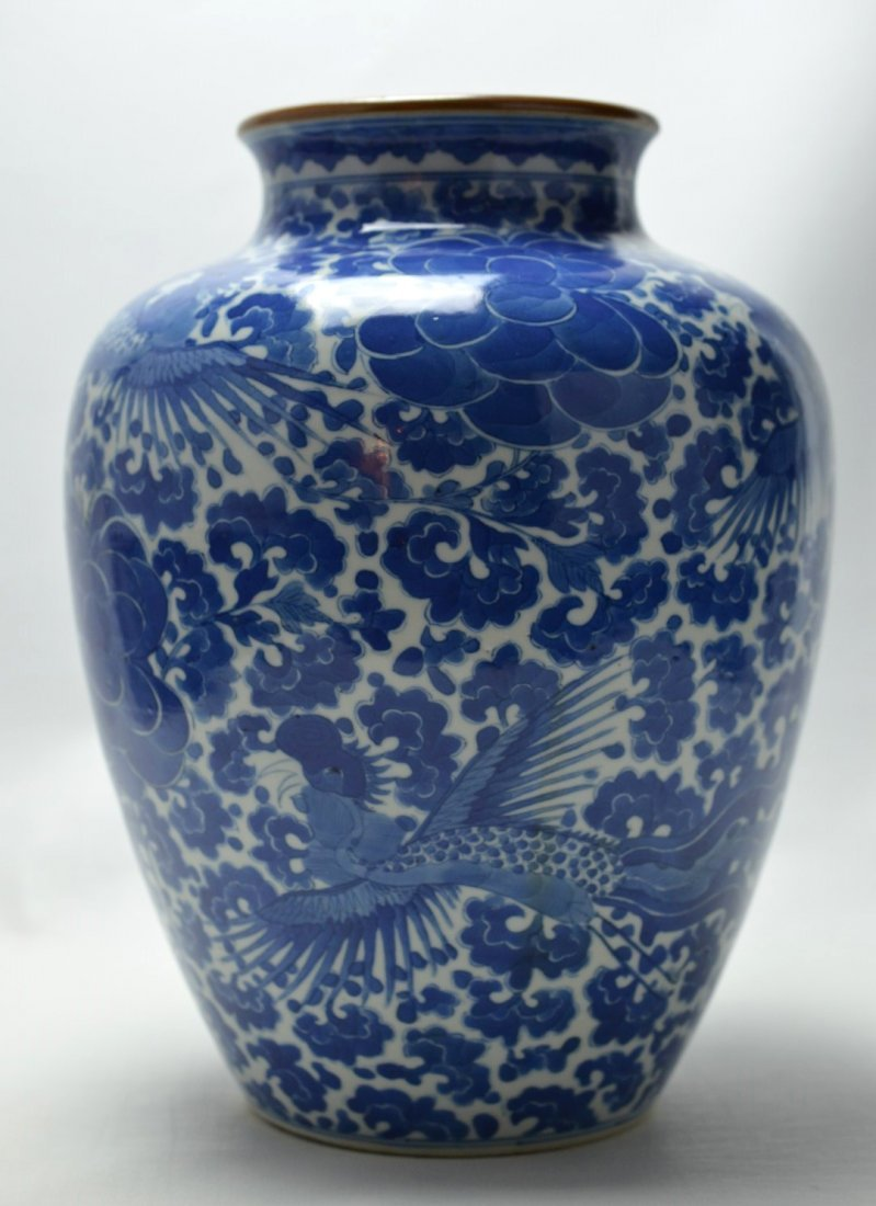 Exceptional Chinese Kangxi-Period Porcelain Blue &