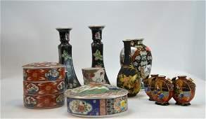 8-pcs Chinese/Japanese Porcelain