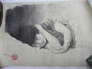 Xu, Beihong (1895-1953) Jiang, Biwei