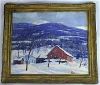 FRANK GERVASI (American 1895-1986) Oil painting