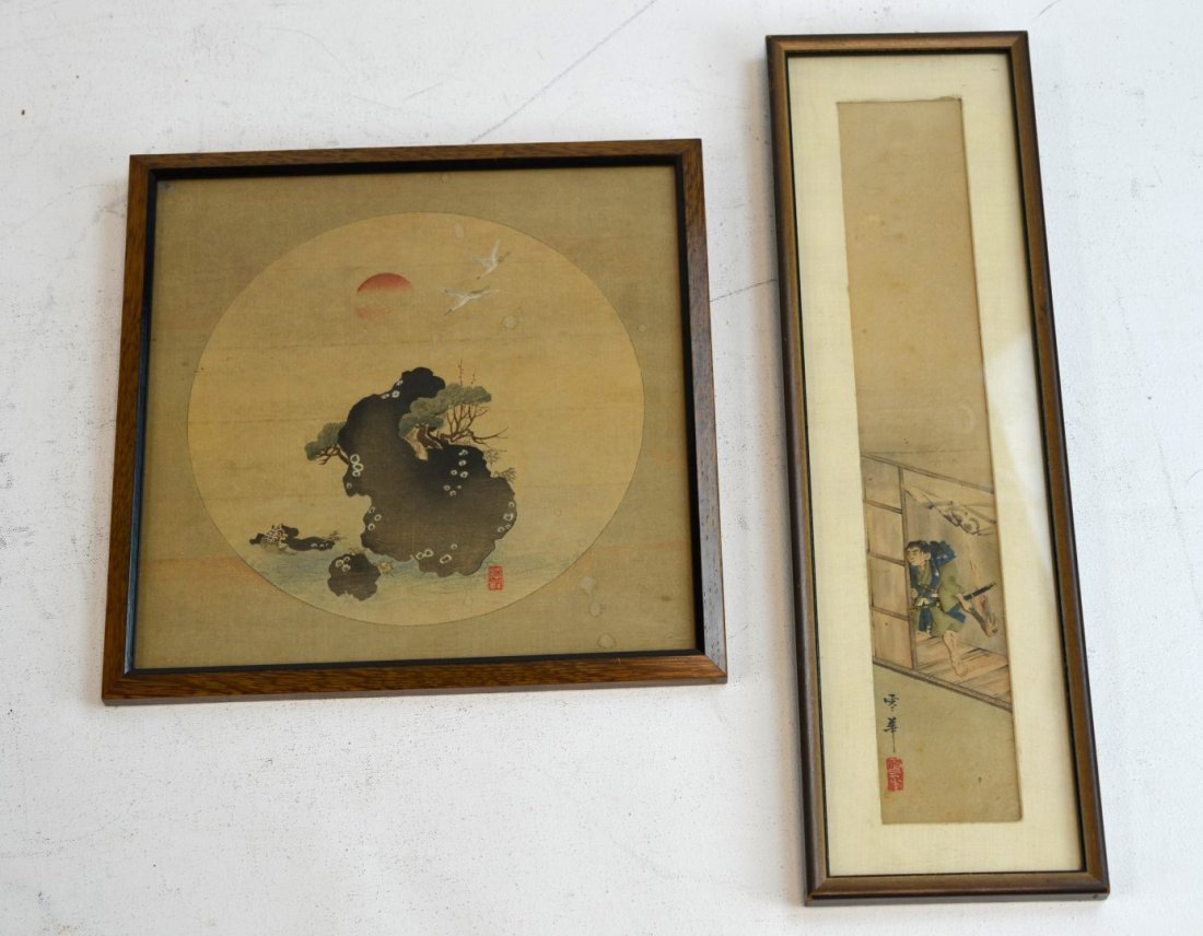 Two Japanese Block Prints