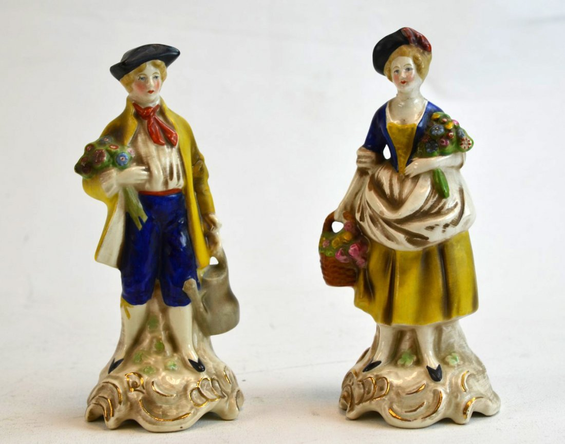 Two German Porcelain Figures