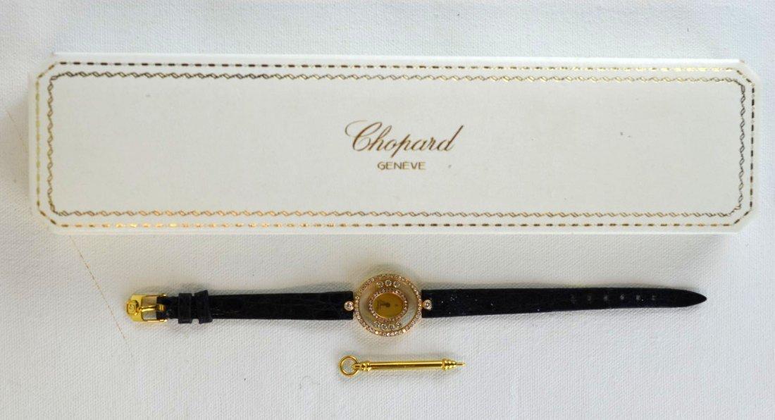 Chopard Ladies Happy Diamonds Watch