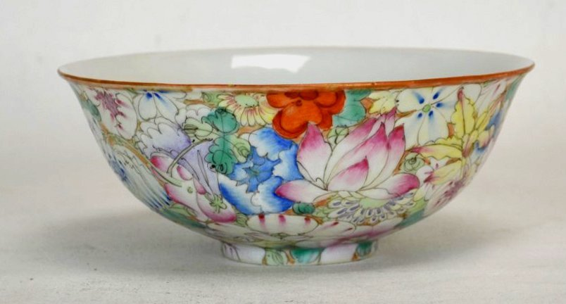 18th C. Chinese Famille Rose Porcelain Bowl