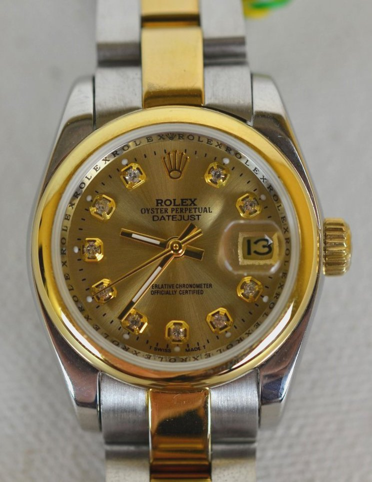 Ladies Rolex Oyster Perpetual Datejust Wristwatch