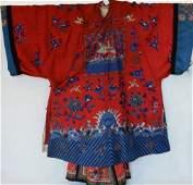Qing Dynasty, Silk Ladies Clothes