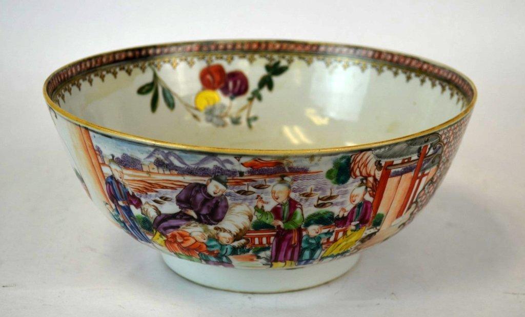 Chinese Porcelain Famille Medallion Bowl