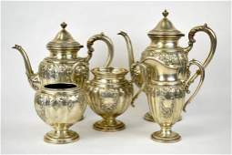 Frank M. Whiting Sterling Silver Tea Service