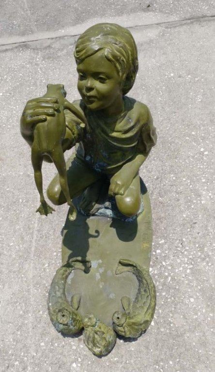Rachel M Hawks Bronze Sculpture