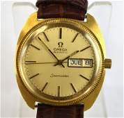 18K Gold Omega Men's Watch