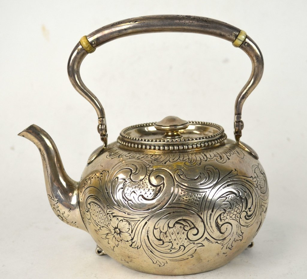Tiffany & Co. Sterling Silver Teapot