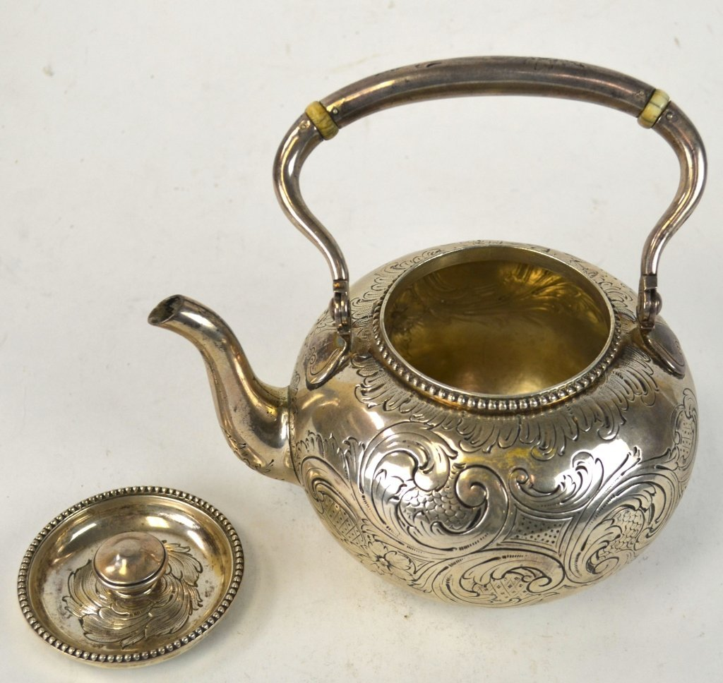 Tiffany & Co. Sterling Silver Teapot - 5