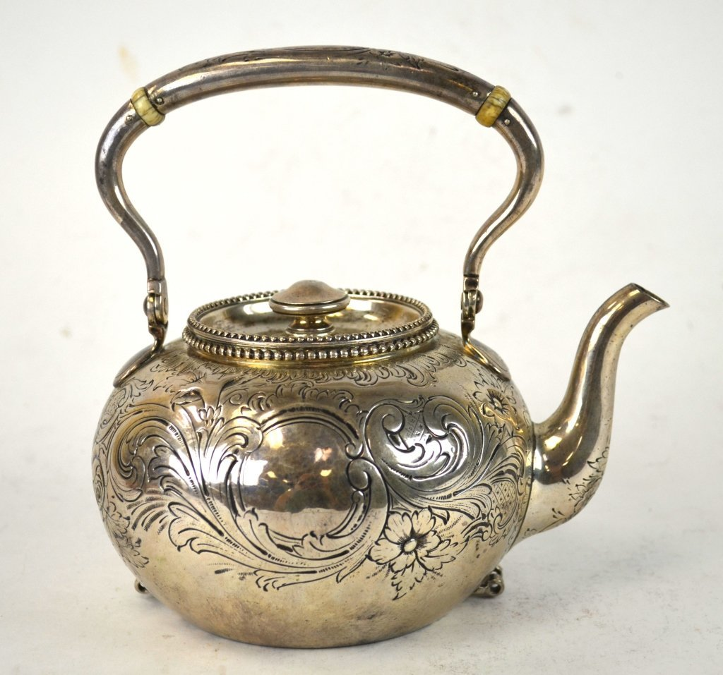 Tiffany & Co. Sterling Silver Teapot - 8