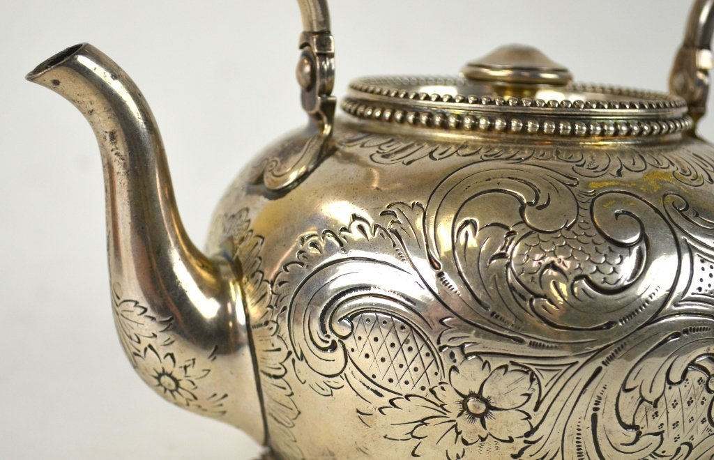 Tiffany & Co. Sterling Silver Teapot - 9