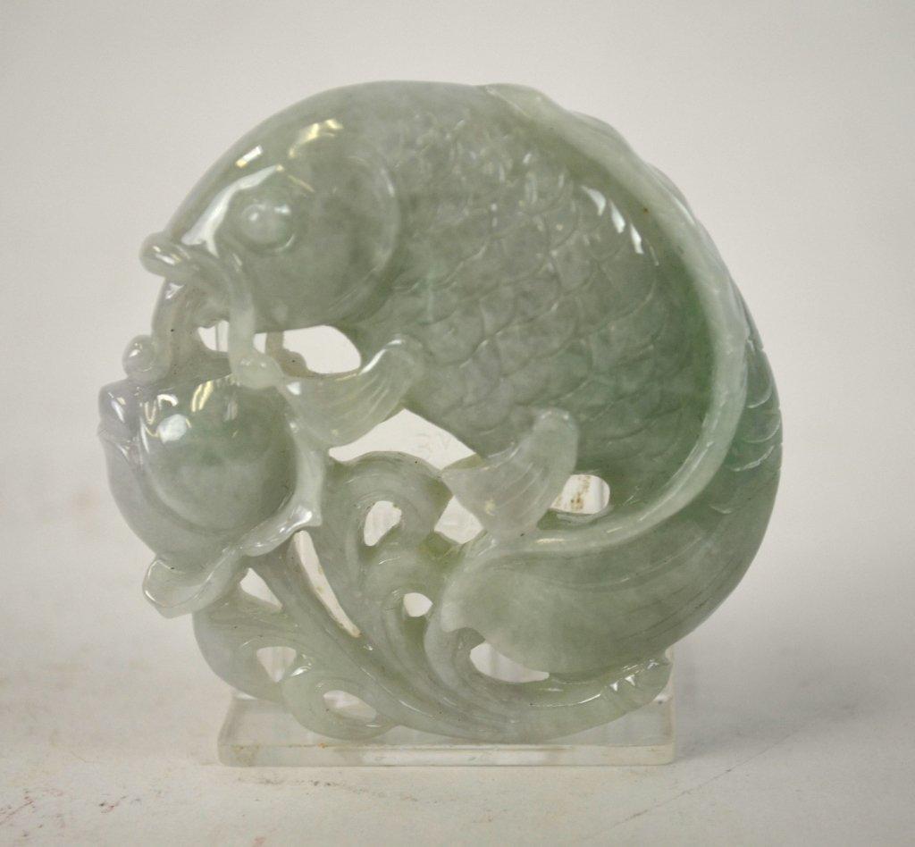 Six Pieces of  Chinese Jadeite - 3