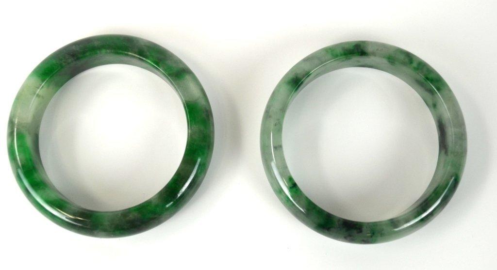 Two Chinese Jade Bangles - 2