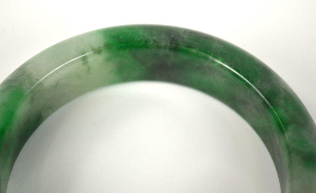 Two Chinese Jade Bangles - 5