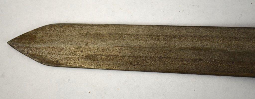 Chinese Metal Sword in Sheath - 5