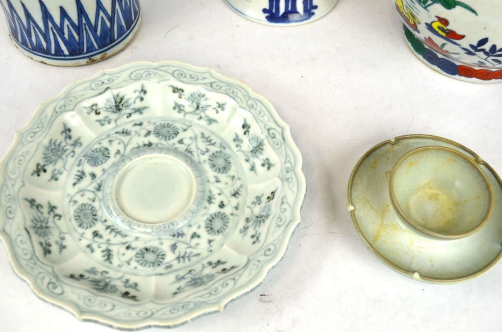 Five Chinese Porcelain Pieces - 4