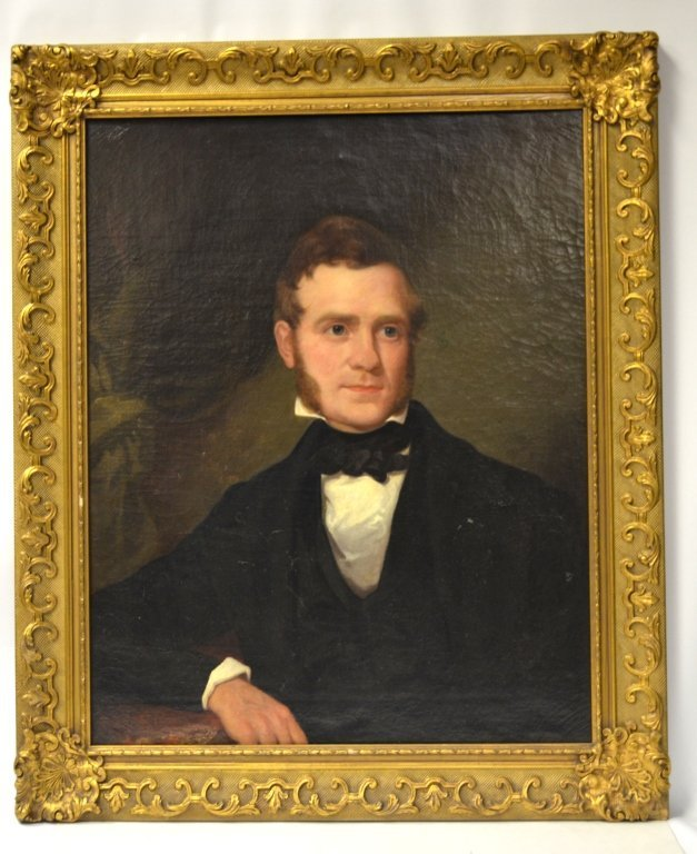 Thomas Sully  Framed Oil Painting On Board