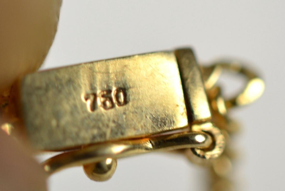Tiffany & Co.18K Ruby w Diamond Necklace - 8