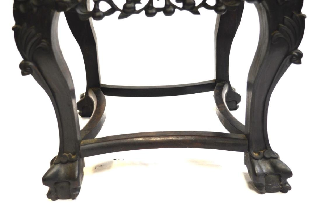 Chinese Stool with Marble Top - 4