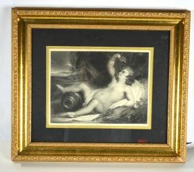 Framed Print of Nude