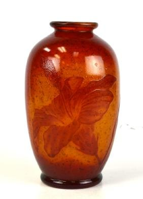 DeSite Christian Wheel Carved Vase