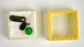 Four loose Gemstone/Jade