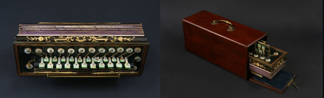 1: An Early 19th century Flutina