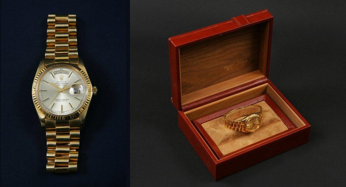4: A Rolex 18 Carat Yellow Gold Day Date Gentleman's Wr
