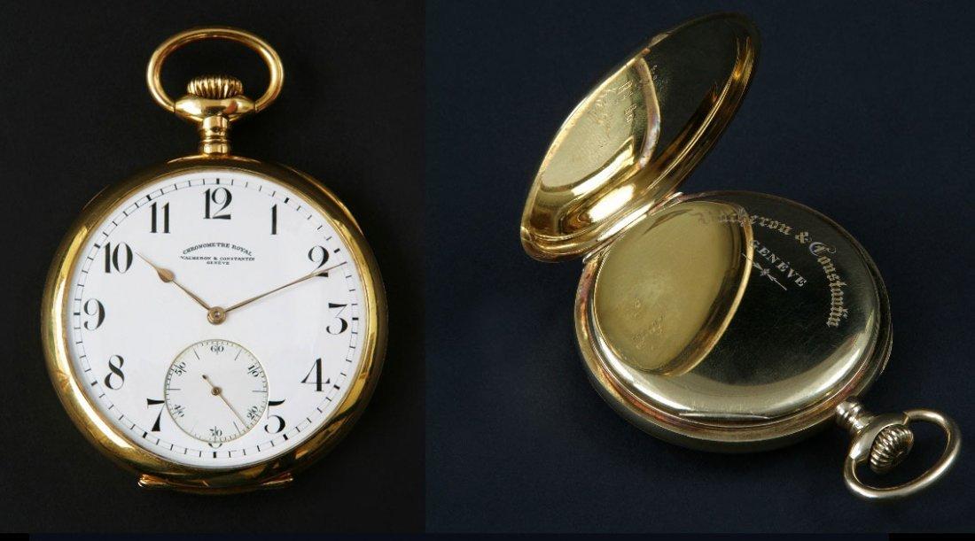 5: A Vacheron and Constantine Royal Pocket Watch