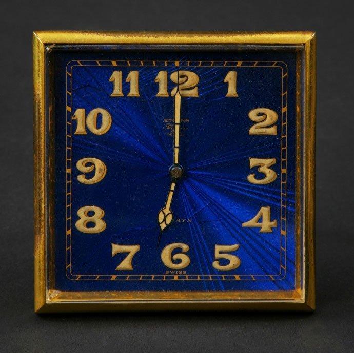 11: A Swiss Eight Day Time Piece, by Eterna, Geneva,ear