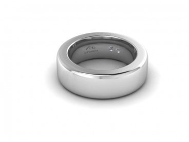 Silver ring by Larimonta, Italy
