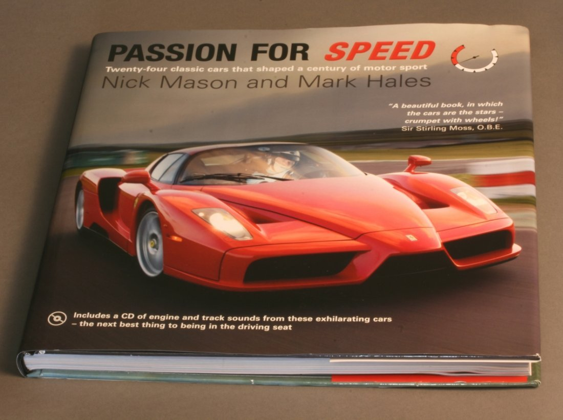 Passion for Speed signed by authors
