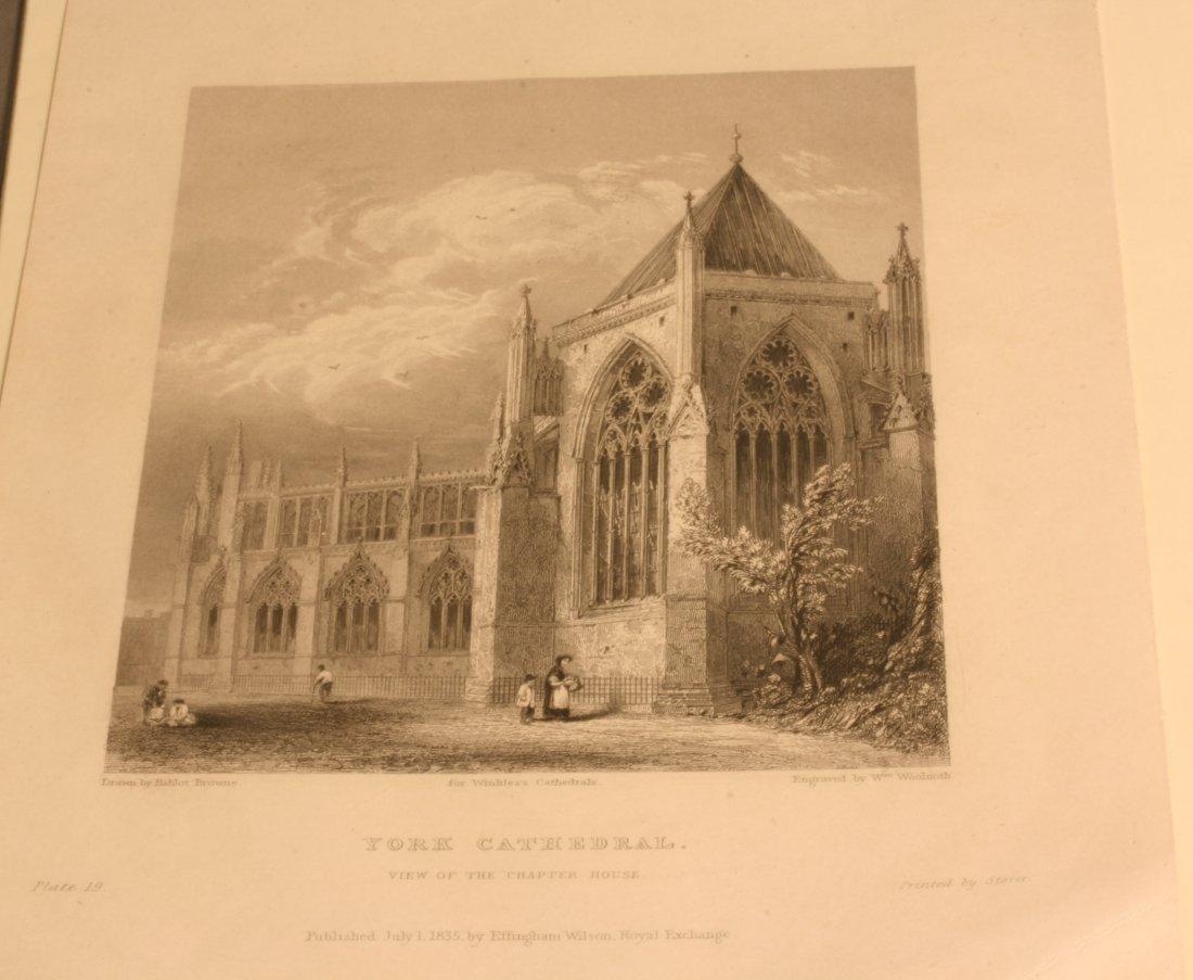 A Print of York Minster. Circa 1836.