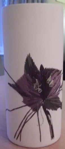 Ceramic Gilles Caffier vase